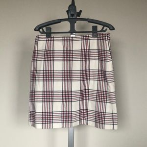 Brooks Brothers plaid skirt